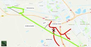 Aleternatief plan D66 Groene Corridor